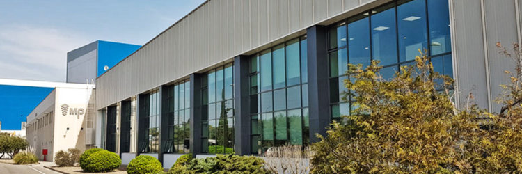 Proyecto y obra de implantación de fábrica de MP en Zaragoza