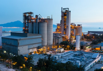 Construcción de vertedero para escoria siderúrgica